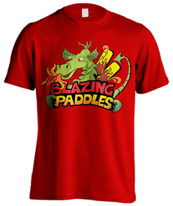 Logo design for Blazing Paddles