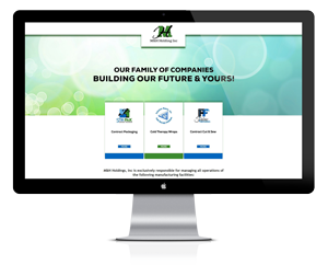 Website design for M&H Holding