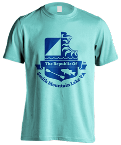 T-shirt logo design for The Republic of Smith Mountain Lake